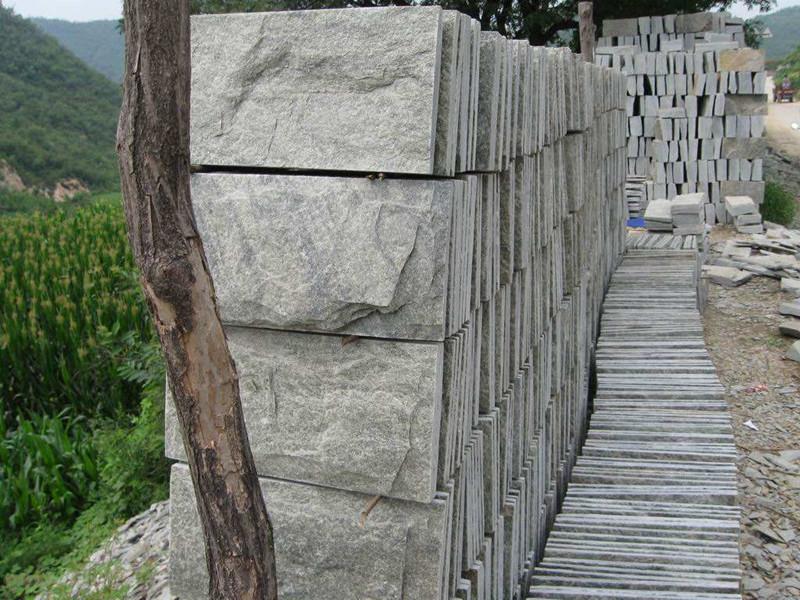 4公分青石板蘑菇石
