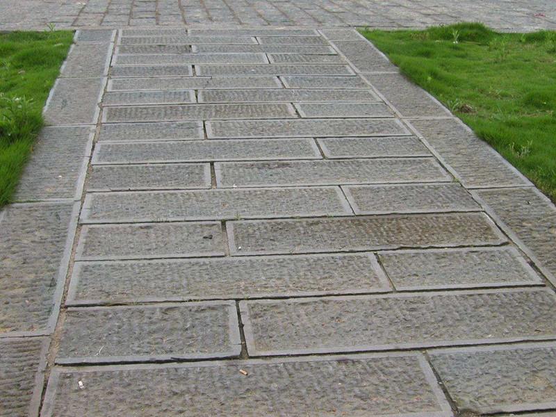 150青石板剁斧面