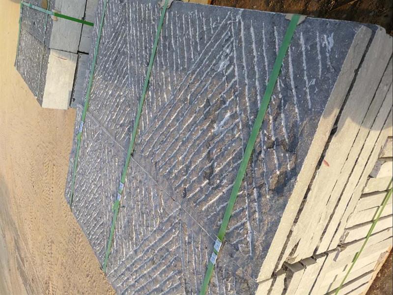 50厚毛面青石板