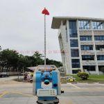 深圳邮局海关15米锥形旗杆