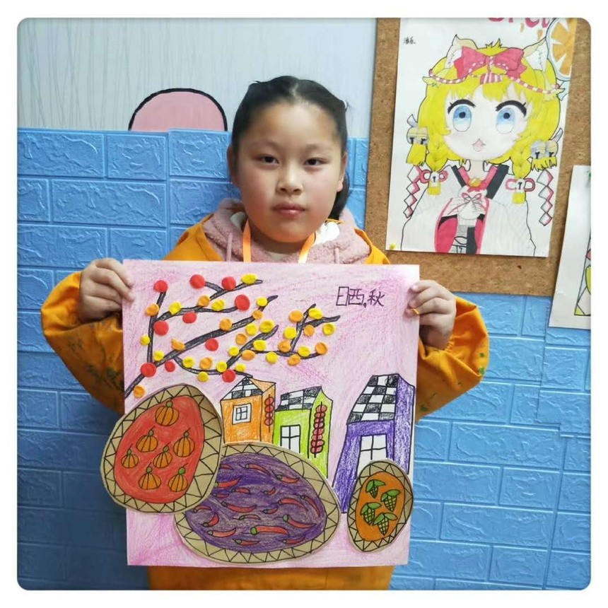 南京艺术培训学员作品