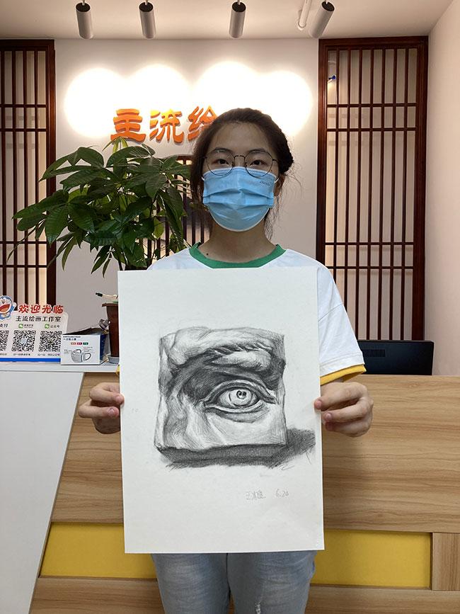 主流艺术教育学员素描作品展示