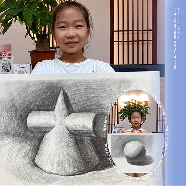 南京专业素描培训班学员作品