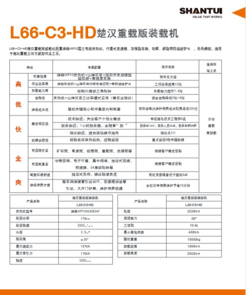 山推装载机L66C3 HD技术参数.PNG