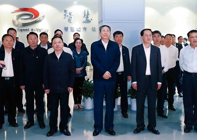 安徽省黨政代表團赴浙江學習考察對接合作