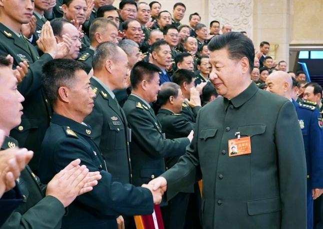 習近平在中央軍委基層建設會議上強調 發揚優良傳統 強化改革創新 推動我軍基層建設全面進步全面過硬