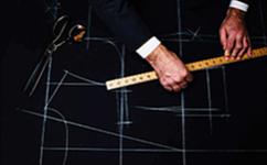 西装定制要怎么搭配领带呢?
