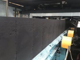 铸造厂用耐高温输送带黑沙输送带