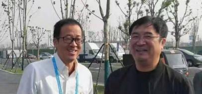 第六届世界互联网大会新东方创始人俞敏洪先生会晤古冶区教育局郑俊刚局长