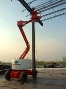 16米电动自行走升降平台