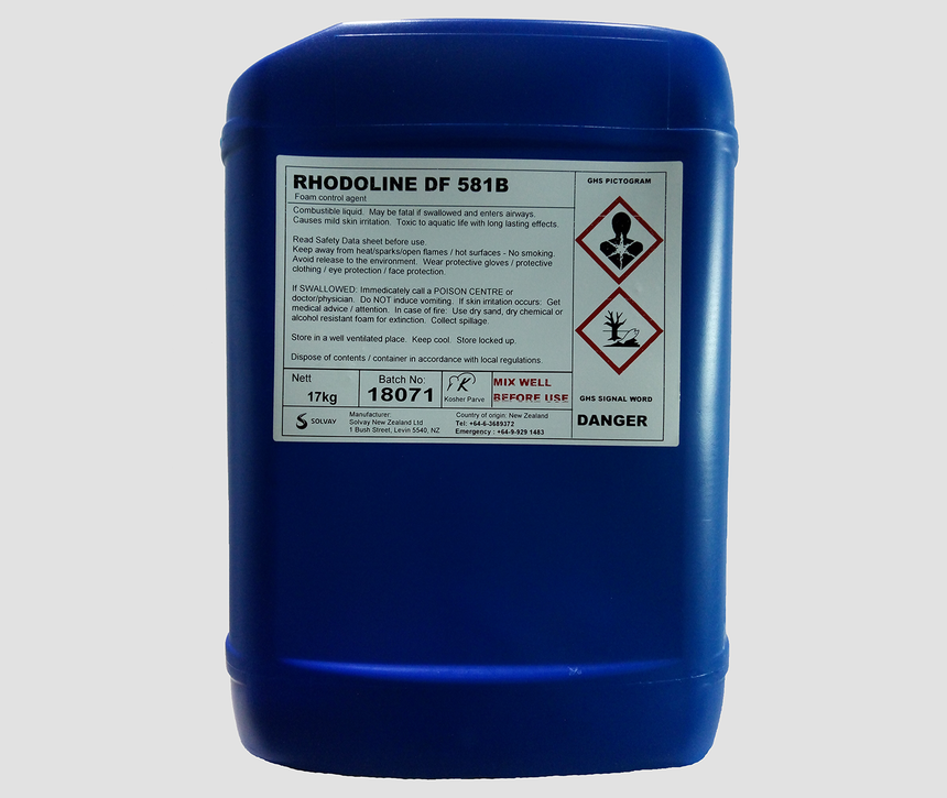 索爾維RHODOLINE DF581B消泡劑