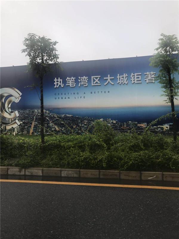 海岸城项目的围挡广告.jpg