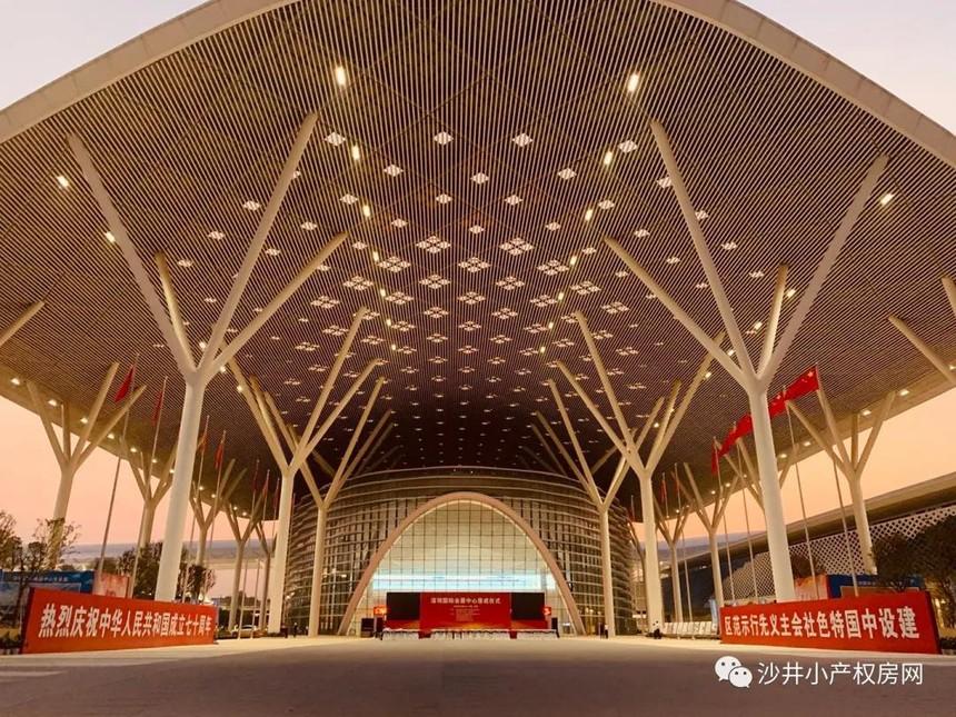 9月底落成的深圳国际会展中心一期.jpg