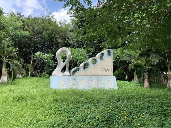 中泰国际附近的广场体育公园.jpg