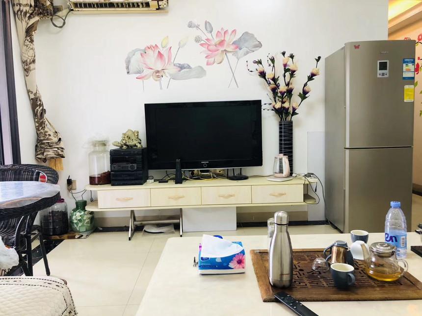 中泰国际二手房二房客厅实拍