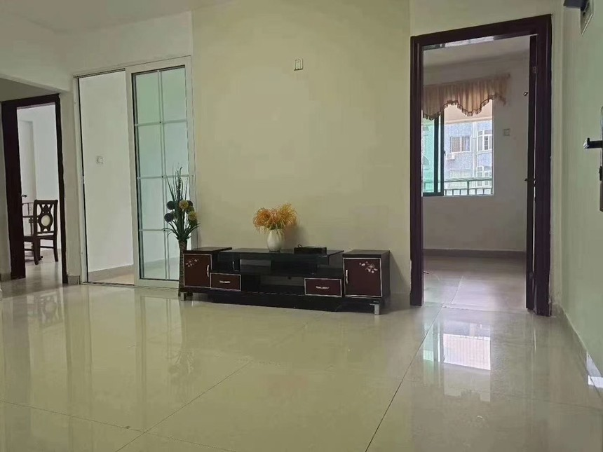 凤城花园二手房2+1房客厅实拍