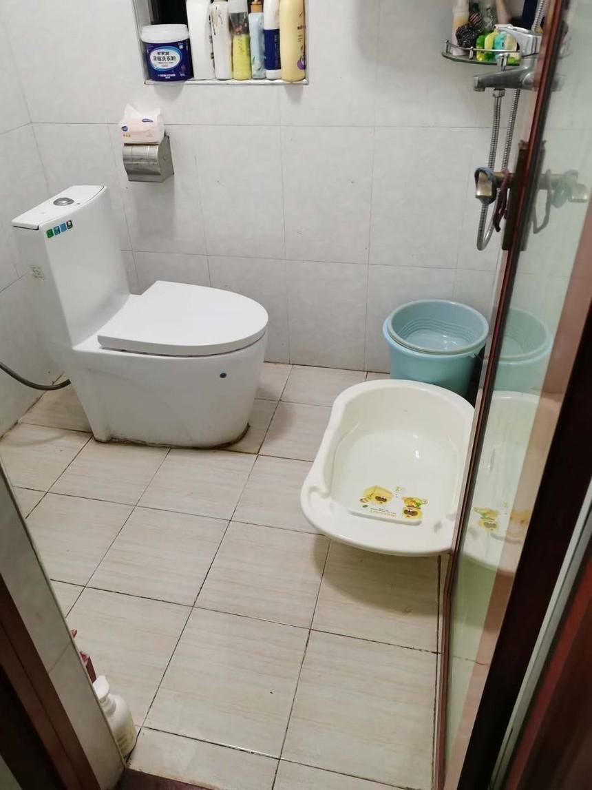 沙利公馆二手房二房卫生间实拍