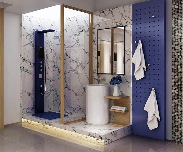 智能淋浴屏