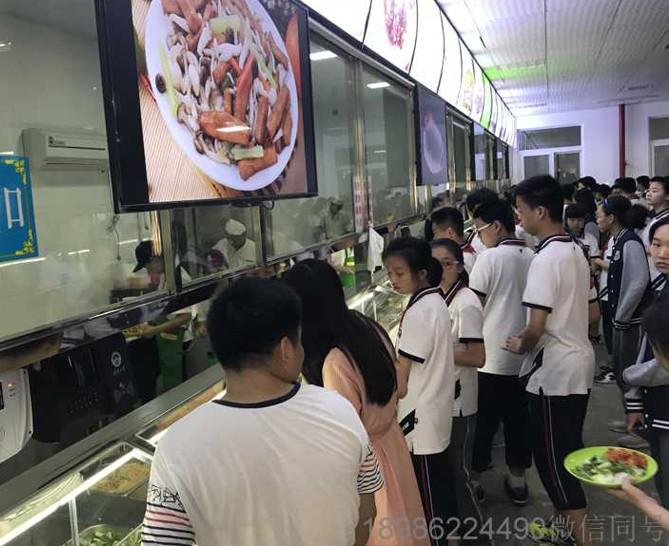 武汉大学附属一中学生食堂售饭机 学校餐厅消费机 武汉食堂刷卡机