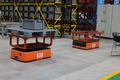 湖北科德智能工厂内景:自动导引运输车