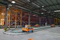 湖北科德智能工厂内景:有轨导引小车