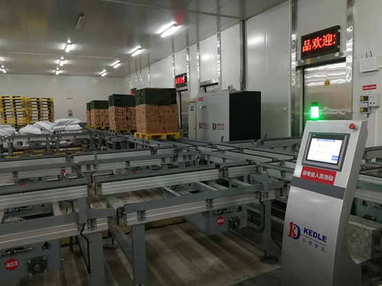 成都三全食品自动化立体库物流仓储系统