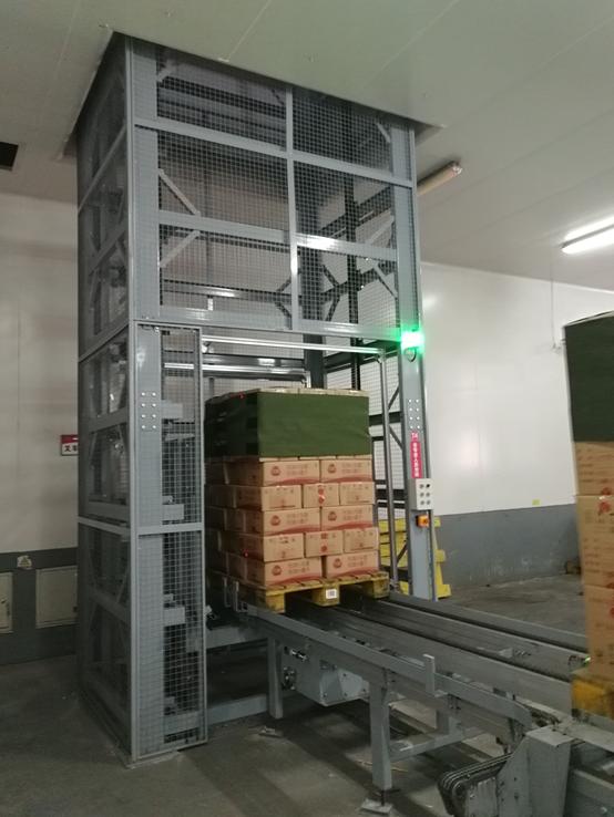 成都三全食品自动化立体库物流仓储系统图