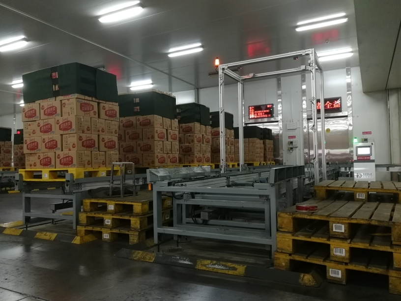 科德智能建造的三全食品佛山全瑞食品有限公司智能立体冷库