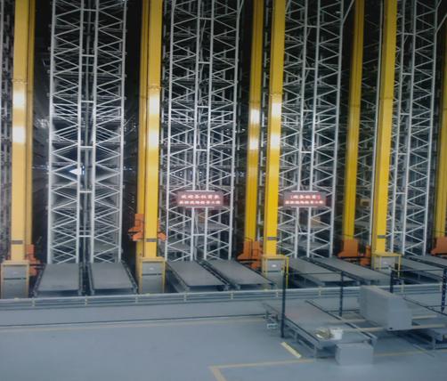 科德智能立体库旧库改造升级图-自动化立体仓库AS/RS