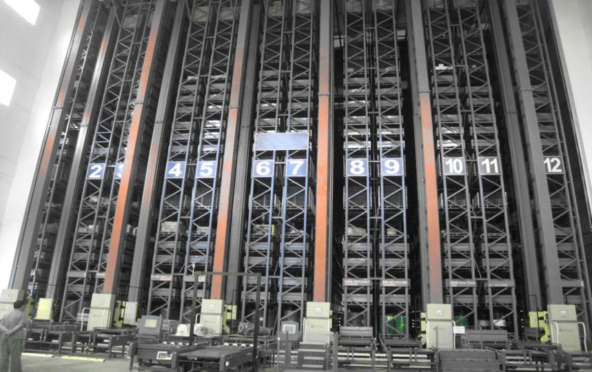 科德智能智能倉儲物流系統自動化立體倉庫