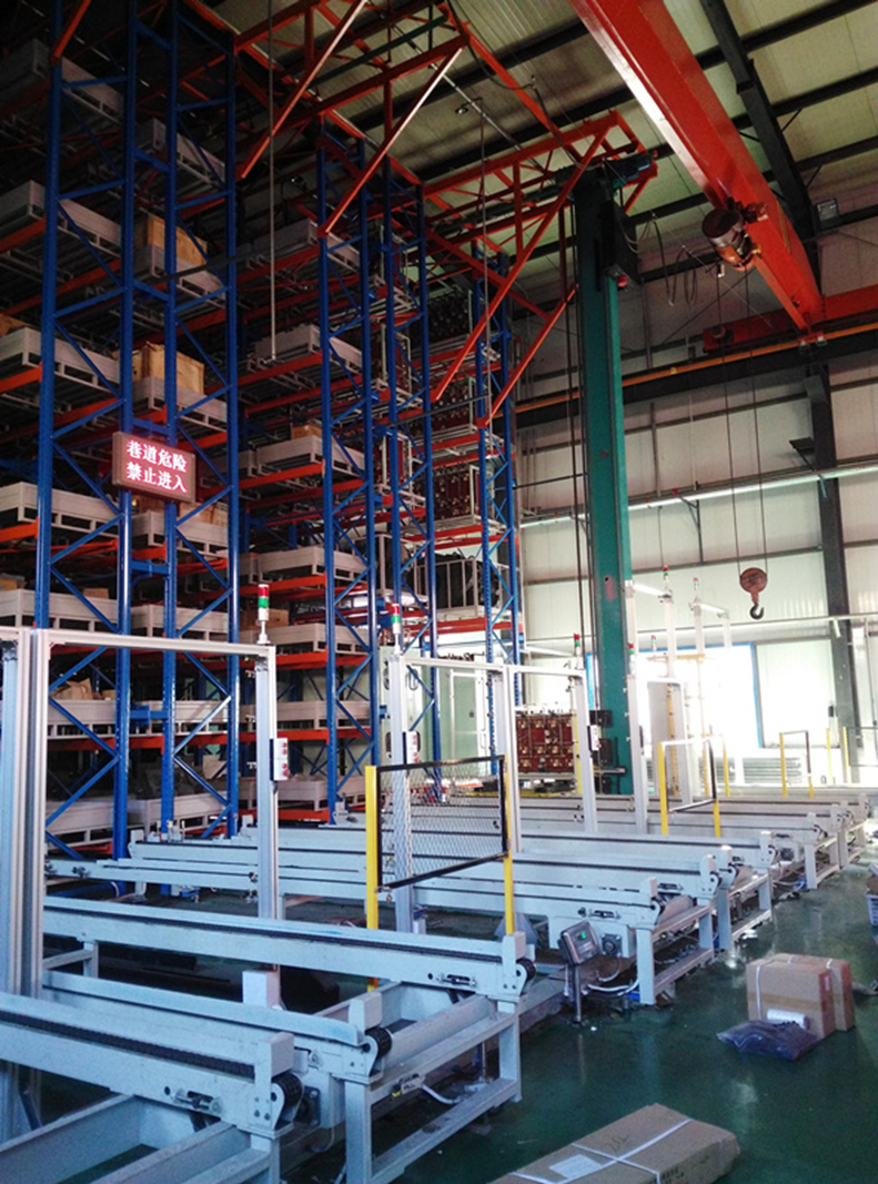科德智能智能仓储物流系统自动化立体仓库