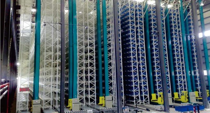 解放軍某部智能倉儲物流系統自動化立體倉庫