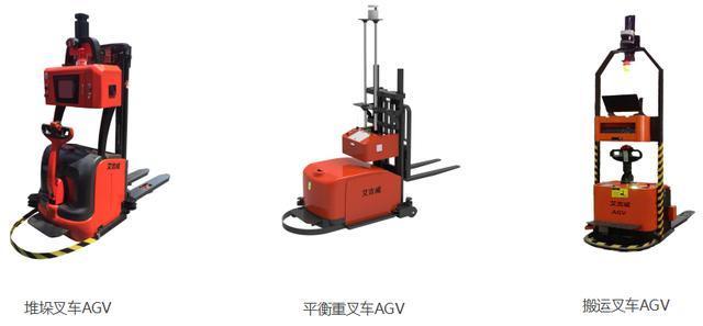 堆垛叉车AGV、平衡重堆垛叉车AGV、搬运式叉车AGV