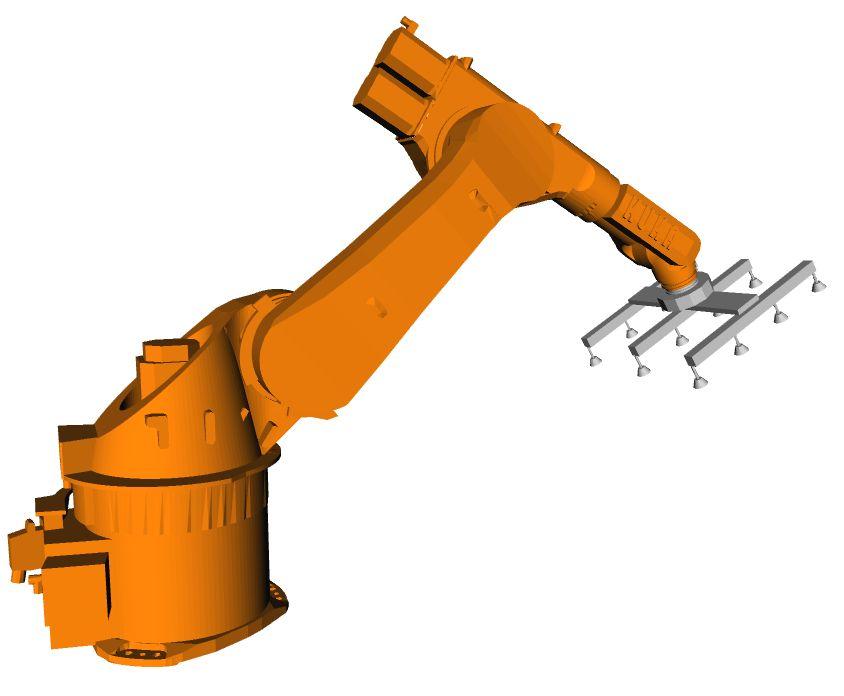 吸盘式堆垛机器人