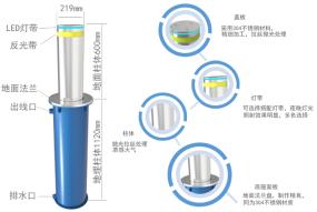 电动液压升降柱