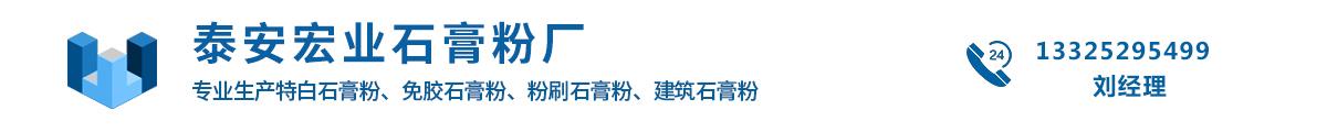 山东泰安天泰工贸旗下泰磊石膏粉厂