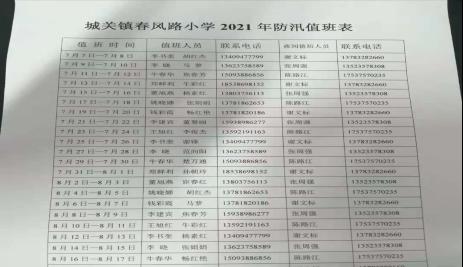 宝丰县城关镇春风路小学防汛工作简报(1)481.png