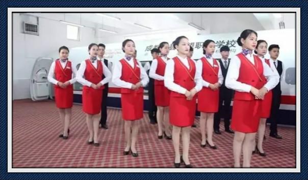 成都郫县航空高铁学校校园概况