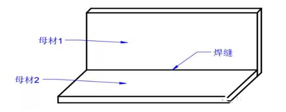 图3直线状焊缝