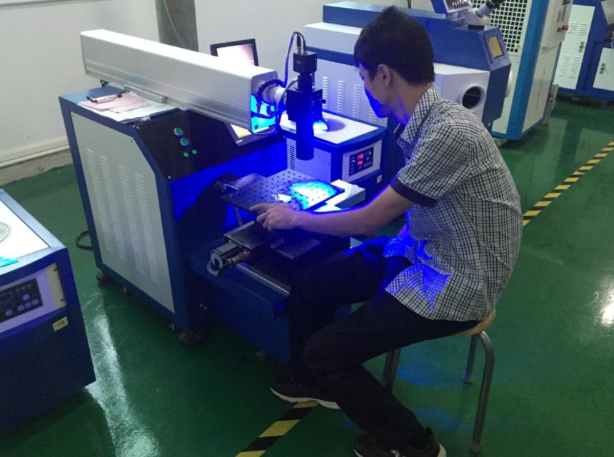 光纤金属激光焊接机设备