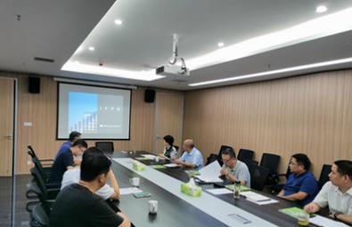 劉祝明出席平頂山市婦幼保健院新院區建設項目設計單位見面會
