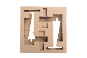蜂窝纸板内衬,包装箱内衬,出口纸箱内衬,
