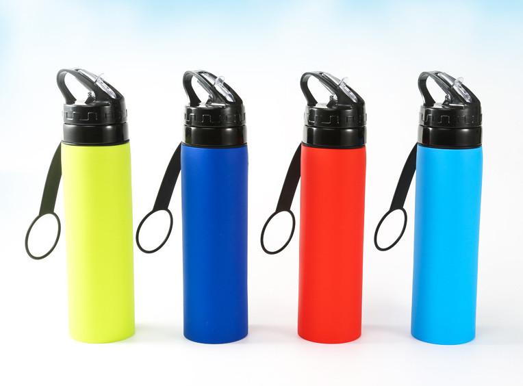 folded water bottle
