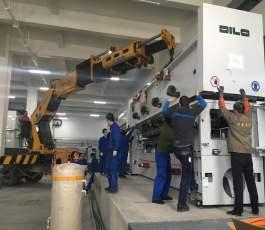 低空吊车精密机械吊装