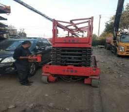 剪刀车在商河培训施工