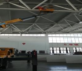 国际会展中心租用高空车第三天
