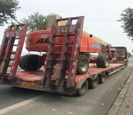 38米高空车运往济宁