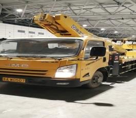 路灯车在山东国际会展中心