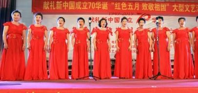 献礼新中国成立70华诞大型文艺汇演