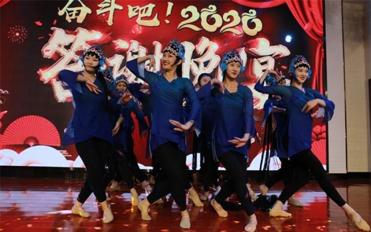 戏曲舞蹈《风韵》 展示这所高校师生艺术才华